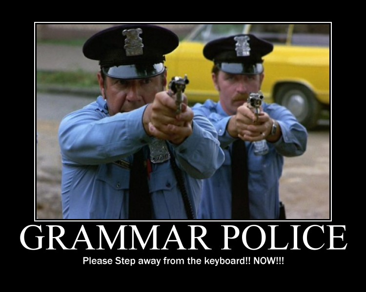 spellcheck and grammar