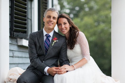 gabriel and piper on their wedding day