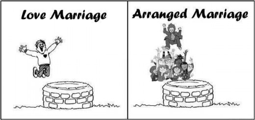 love vs arranged