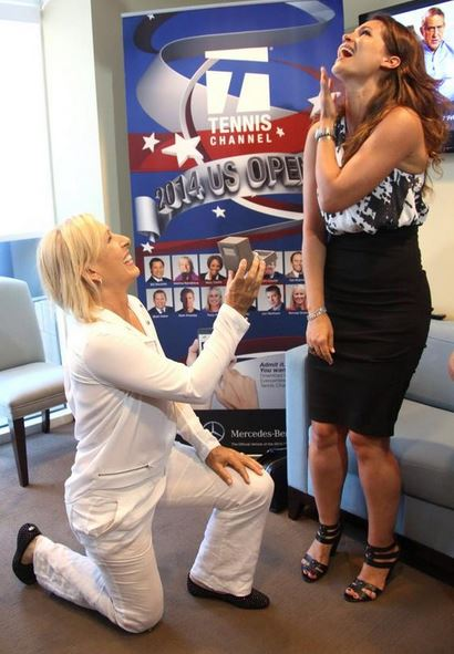 martina proposes to julia