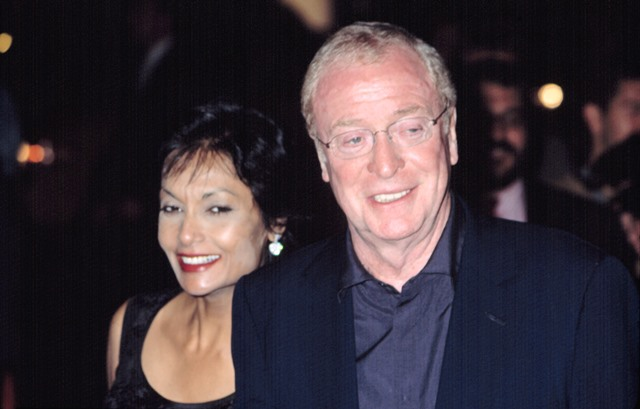 michael caine with wife shakira