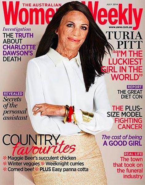 turia pitt australian women's weekly