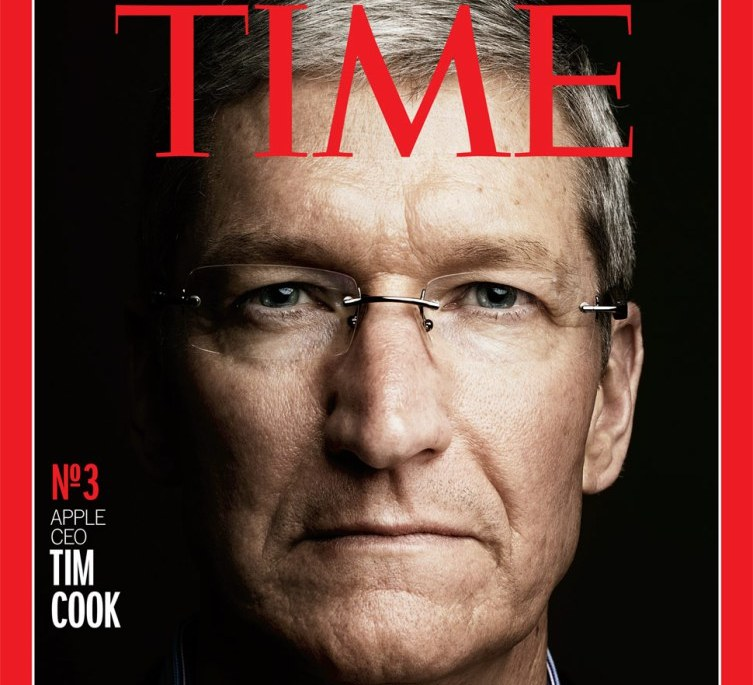 tim cook time magazine cover