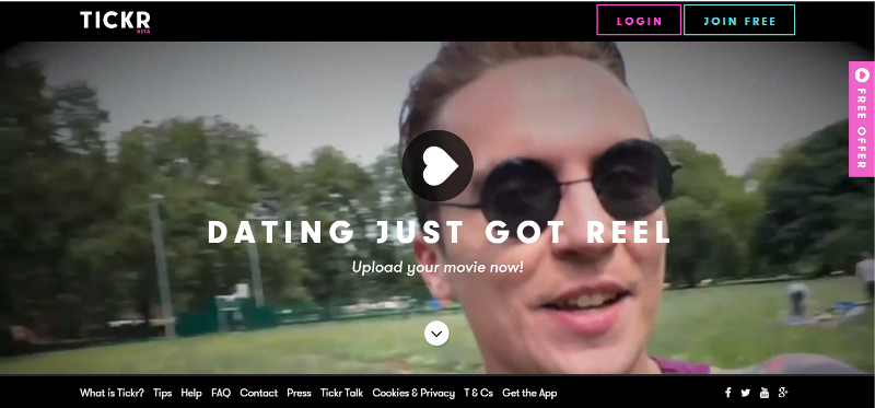 tickr dating As revolutionary dating site tickr prepares to launch, could making movies be the key to meeting the one.