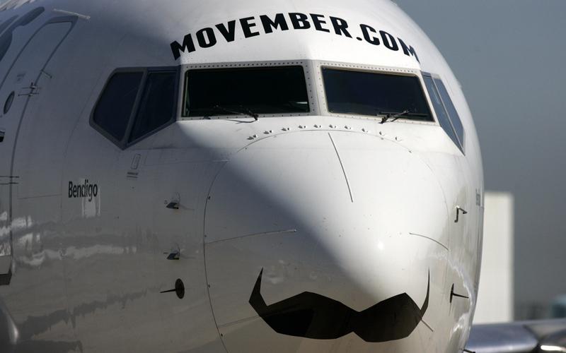 movember aircraft