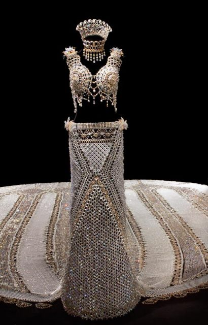 fantasy, the beaded wedding dress