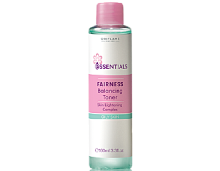 oriflame essentials fairness balancing toner