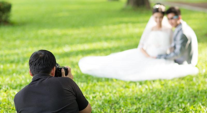 romantic photo shoot