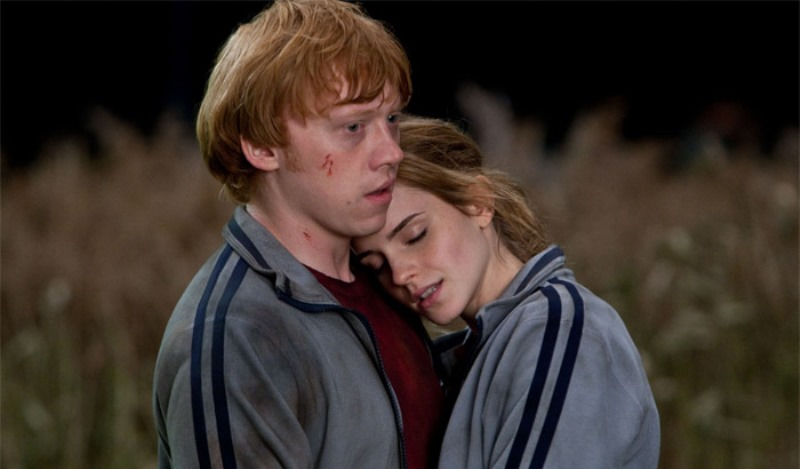 7 valuable relationship lessons from literary couples - Ron weasley and hermione granger kids ...