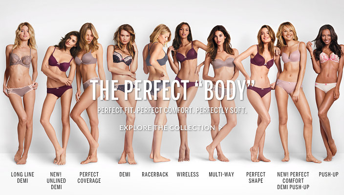 the perfect 'body' ad campaign by victoria's secret