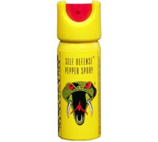 12-foot range pepper spray