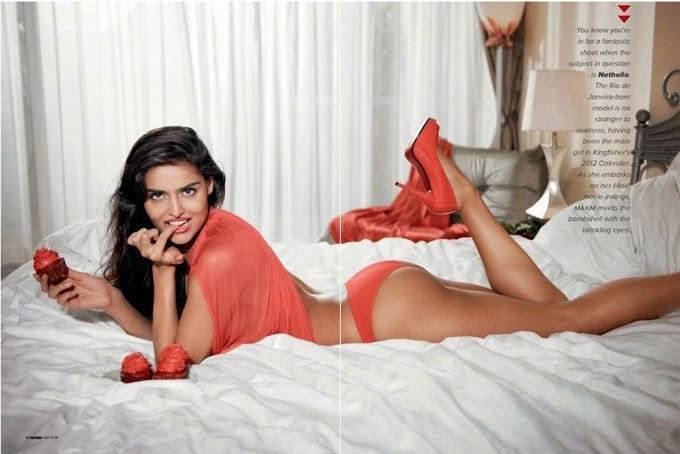 Nathalia Kaur MAXIM Hot Photo Shoot