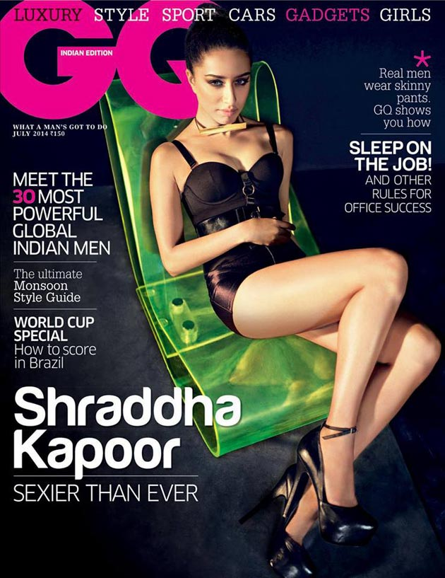 Shraddha-Kapoor-on-GQ-Magazine-Cover