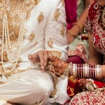 What is the role of family in building trust in an arranged marriage?