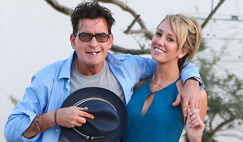 charlie sheen and scottine ross