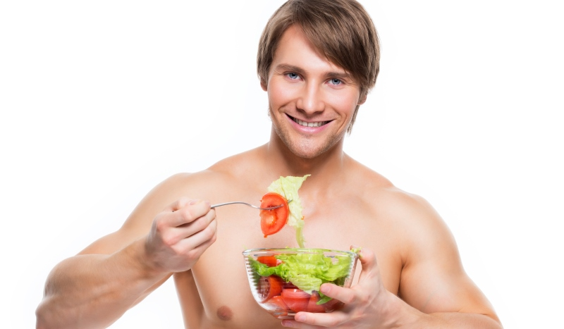 man eating a salad_New_Love_Times