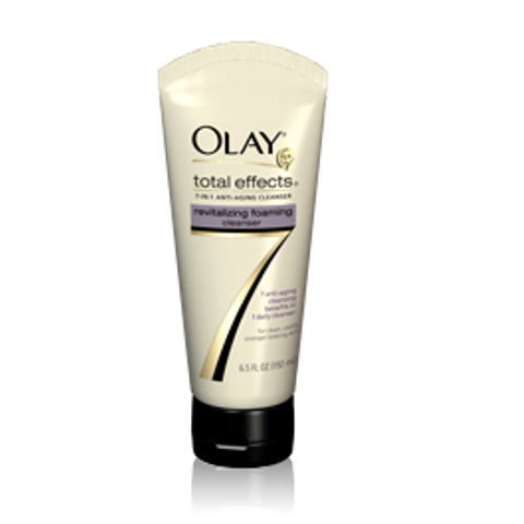olay total effects foaming facewash