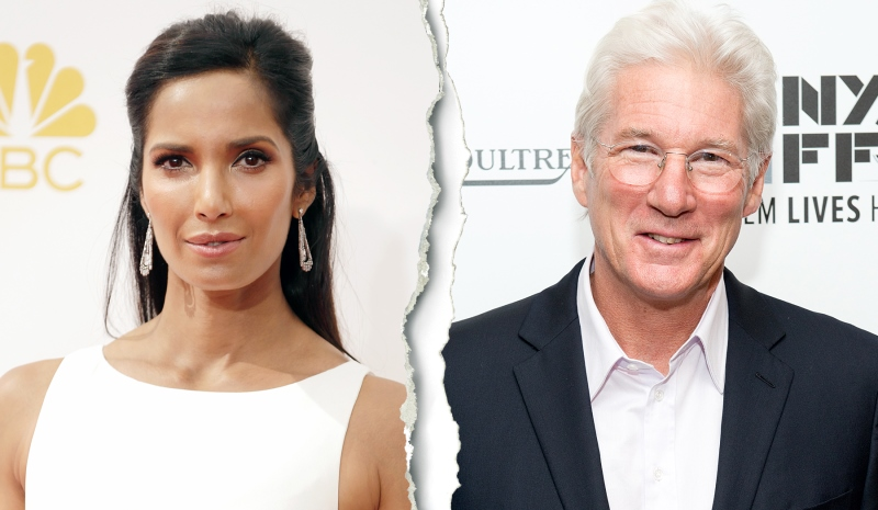 padma lakshmi and richard gere