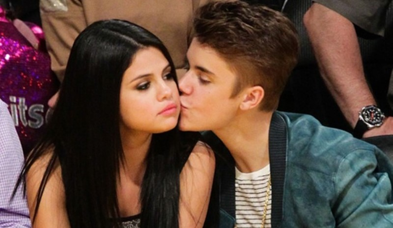 selena gomez and justin beiber