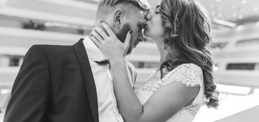 woman kissing man's forehead_New_Love_Times