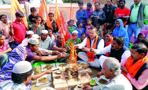 Agra reconversion ceremony december 8