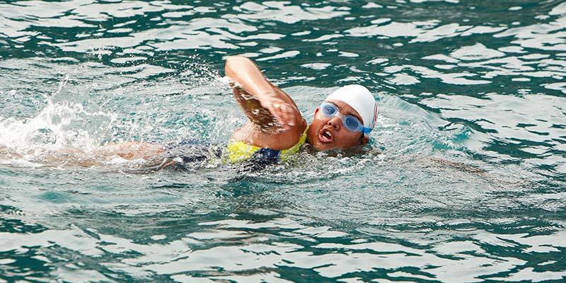 bhakti sharma arctic swim
