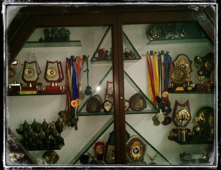 Bhakti Sharma Cupboard of Medals