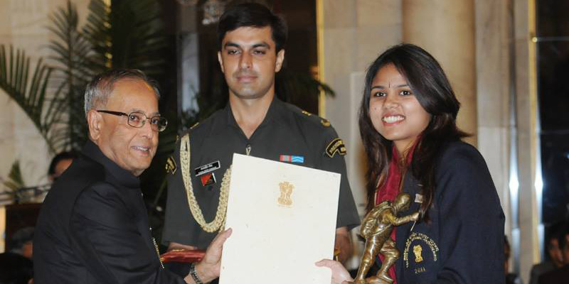 bhakti sharma tenzing norgay award