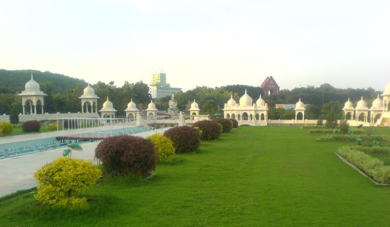 a permanent set at ramoji film city, hyderabad