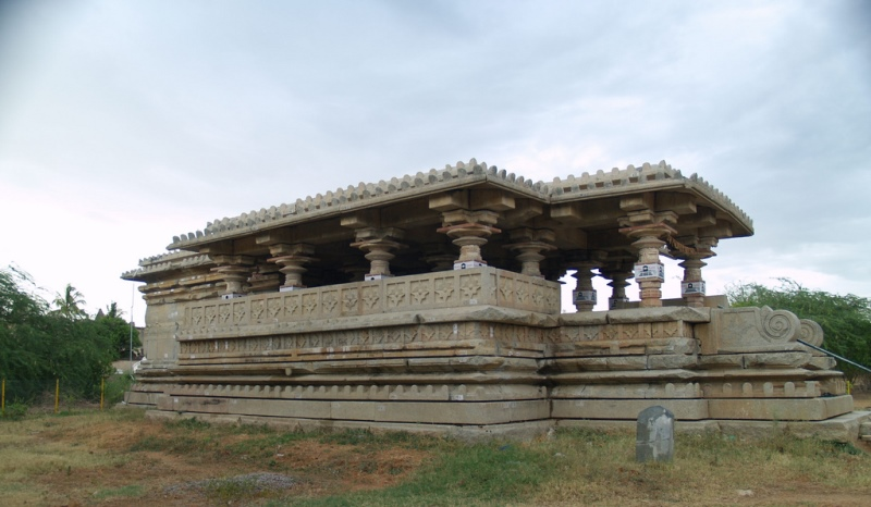 an ancient temple at nizamabad