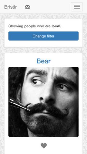 bristlr app profile page