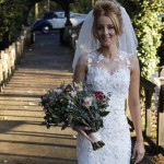 Middlesbrough bride spends 200 hours working on her one-of-a-kind wedding dress