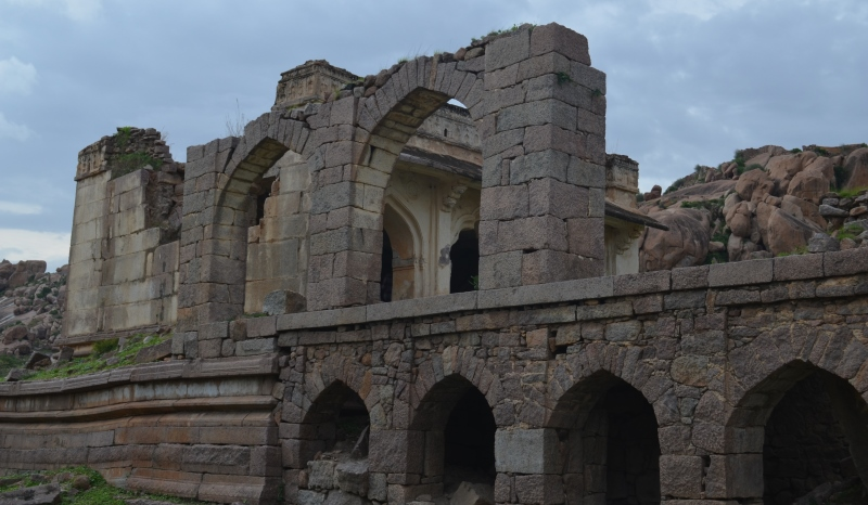 hall of the nawab at adoni fort at kurnool