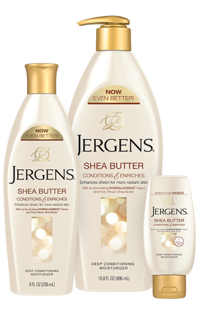jergens deep conditioning shea butter body cream