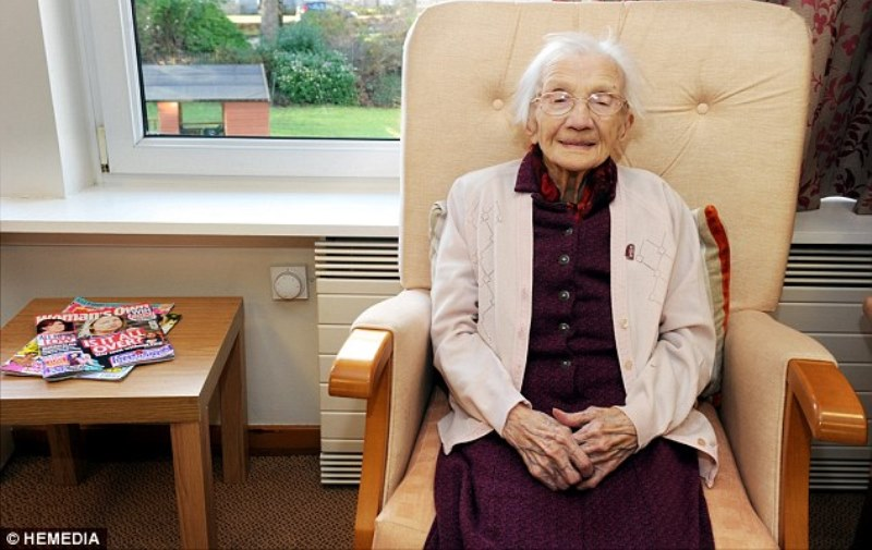 jessie gallan at crosby house care home in aberdeen