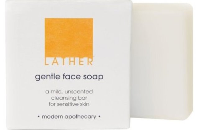 lather gentle face soap
