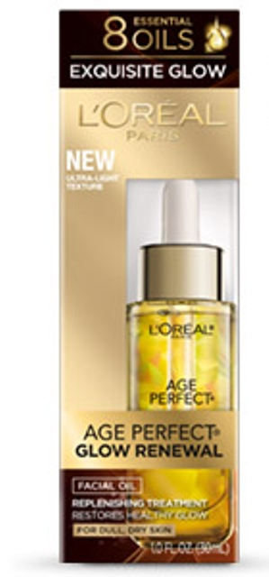 l'oreal paris age-perfect glow renewal facial oil