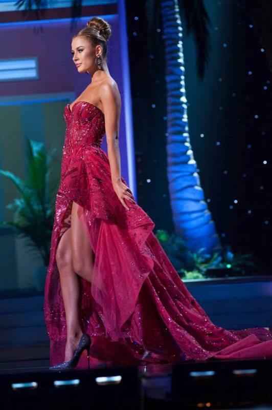 miss ukraine, diana harkusha, the second runner up