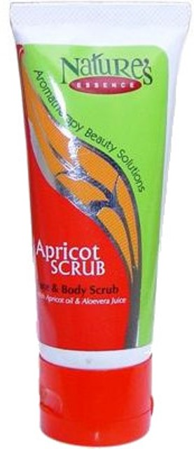 nature's essence apricot face and body scrub
