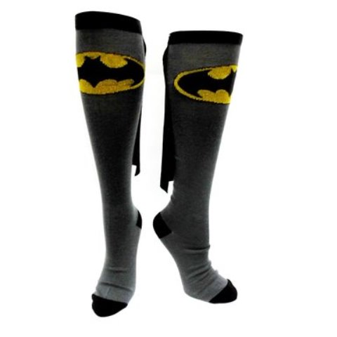 socks with batman design