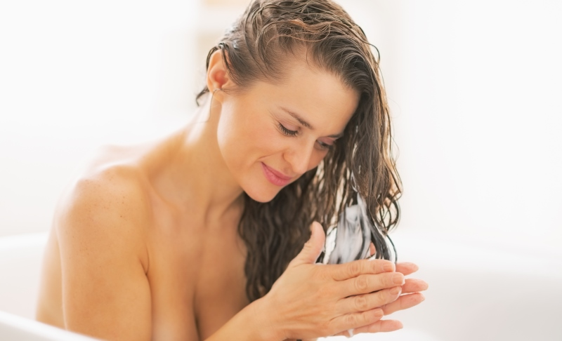 woman washing her hair_New_Love_Times