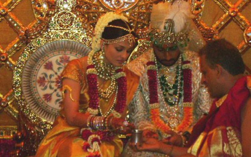 abhishek bachchan and aishwarya rai wedding