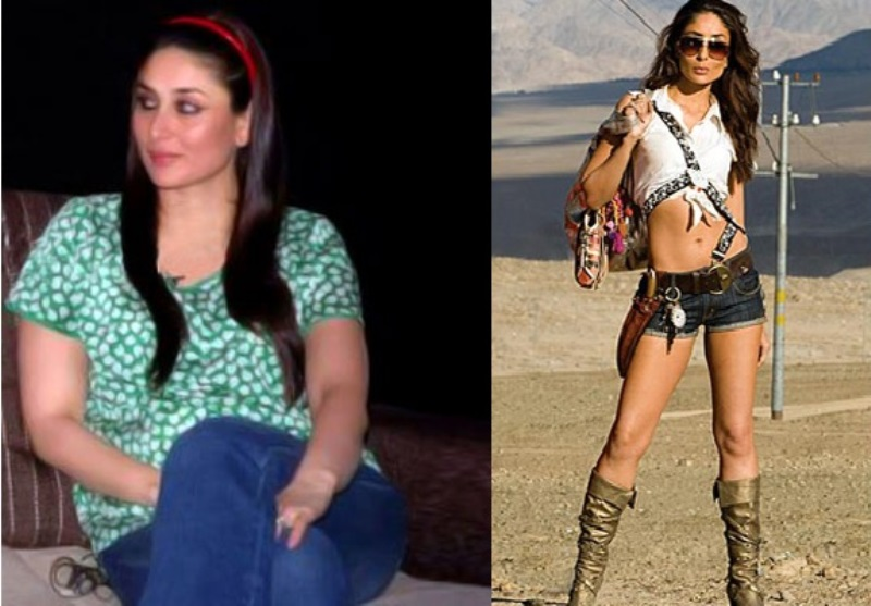 kareena kapoor before and after weight loss