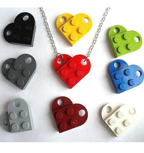 lego love pendant