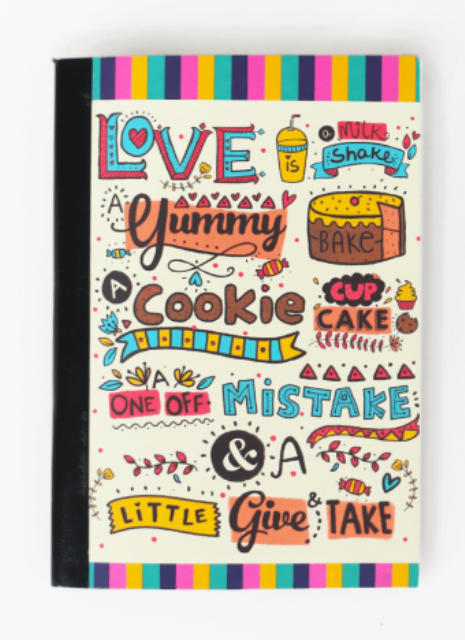 love is yum notebook