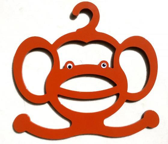 monkey shape scarf hanger