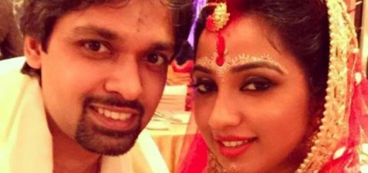 shreya ghoshal with her newlywed husband shiladitya mukhopadhyaya - Copy