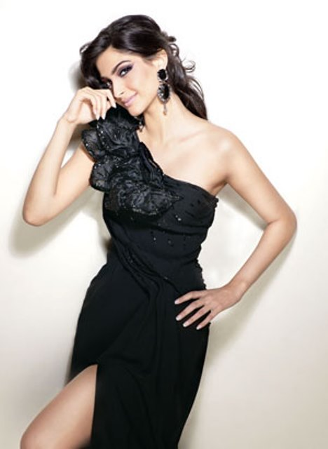 Sonam Kapoor in a photo shoot