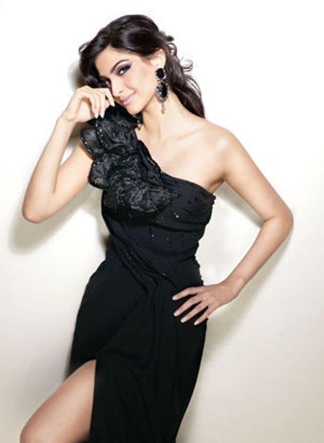 Sonam Kapoor in a photo shoot