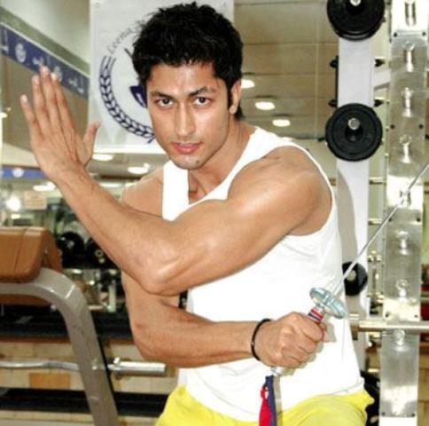 vidyut jamwal practicing a martial art form